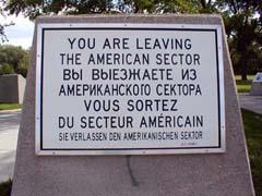 Berlin Wall Sign