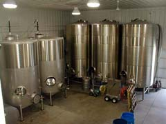 James Arthur wine vats