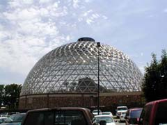 The dome at the Henry Doorly Zoo in Omaha