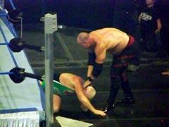 Kane grabbing Finlay